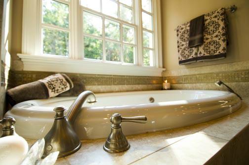 Lot 289 Meadowmont: Master Bath