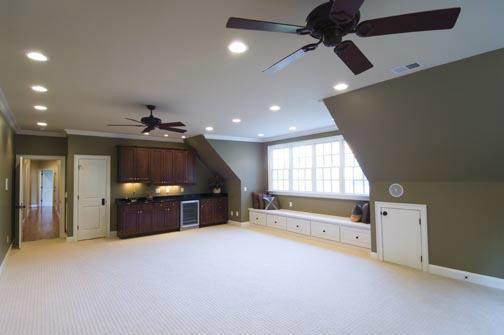 Lot 289 Meadowmont: Bonus Room