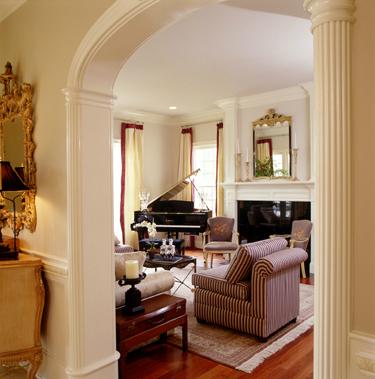 Carpenter Village: Living Room