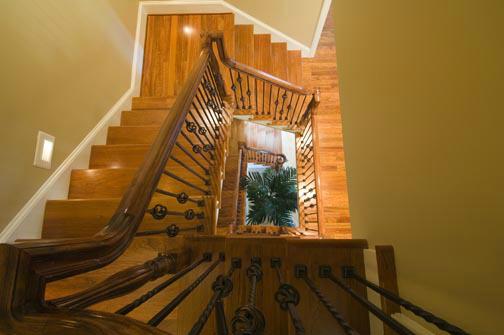 Lot 289 Meadowmont: Stairwell